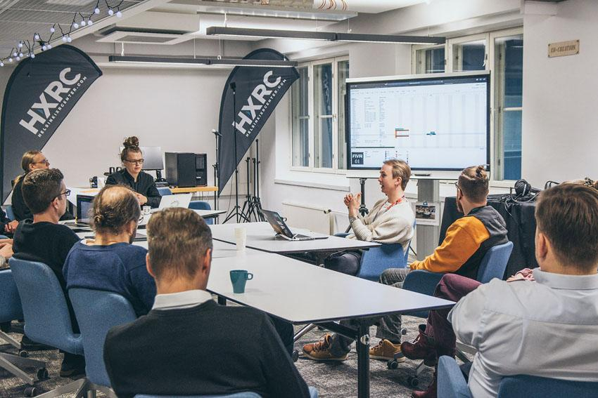 Helsinki XR Center, an enabler